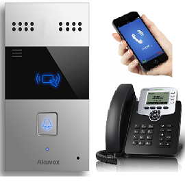 Akuvox Sip Audio Intercom Package With Card Reader Option