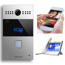 Akuvox Sip Video Intercom Package With Wi Fi Video Phone